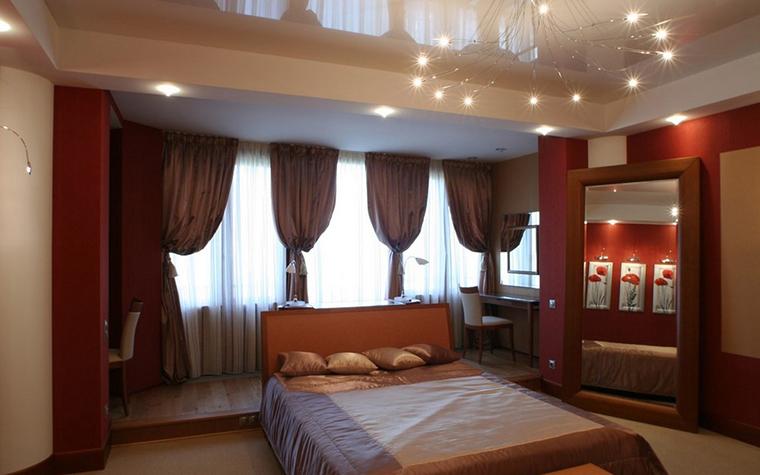 Квартира. спальня из проекта , фото №9878