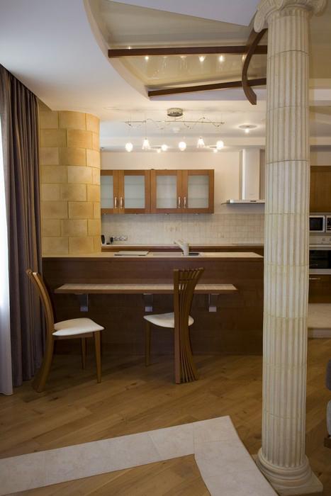 Квартира. кухня из проекта , фото №9870