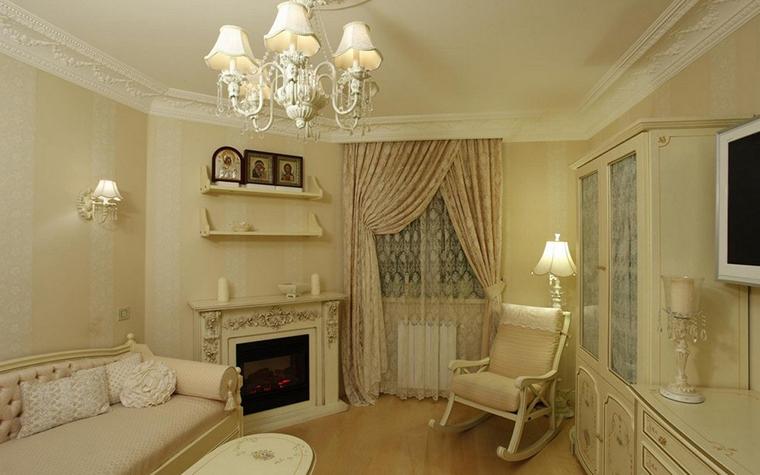 интерьер гостиной - фото № 9962