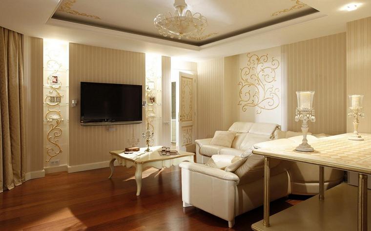 Фото № 9906 гостиная  Квартира
