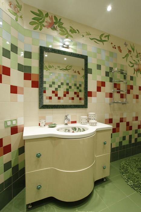 Фото № 9910 ванная  Квартира