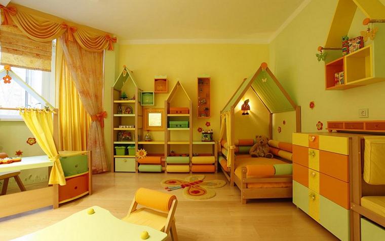 Фото № 9913 детская  Квартира