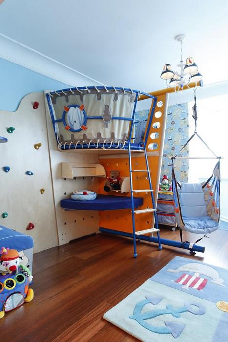 интерьер детской - фото № 9915