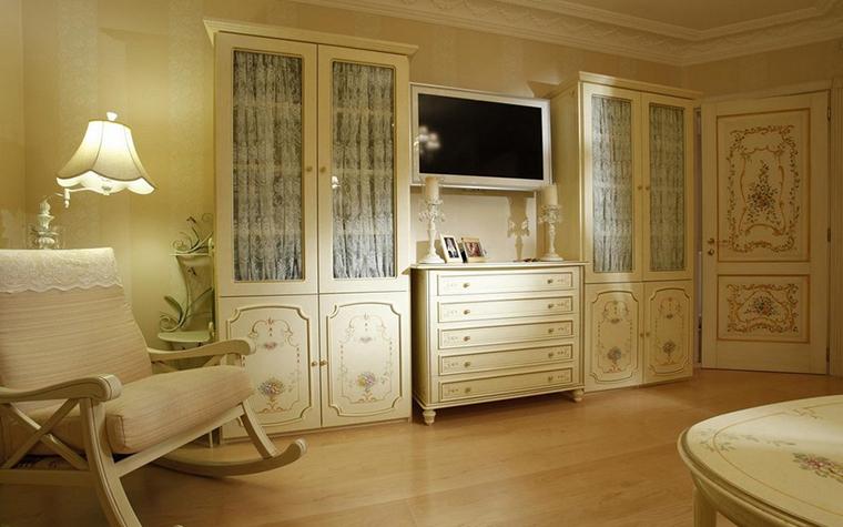 интерьер гостиной - фото № 9964