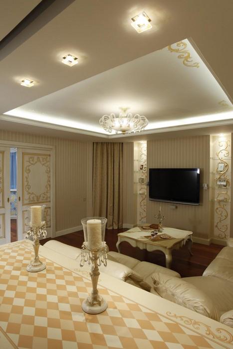 интерьер гостиной - фото № 9905