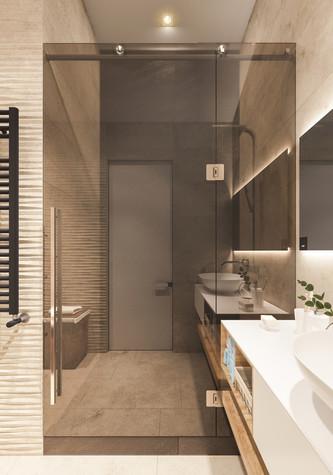 Квартира. ванная из проекта Квартира для творческий и позитивных людей., фото №79924