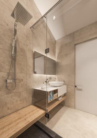 Квартира. ванная из проекта Квартира для творческий и позитивных людей., фото №79925