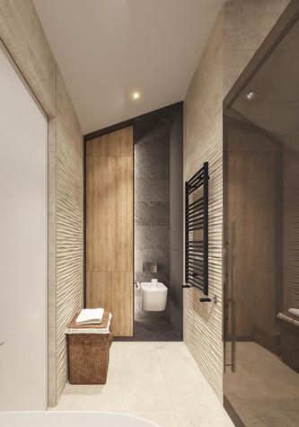 Квартира. ванная из проекта Квартира для творческий и позитивных людей., фото №79926