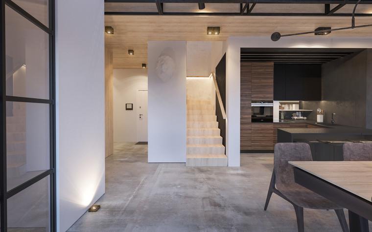Квартира. холл из проекта Квартира для творческий и позитивных людей., фото №79918