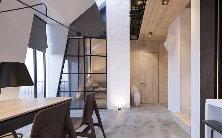 Квартира. холл из проекта Квартира для творческий и позитивных людей., фото №79919