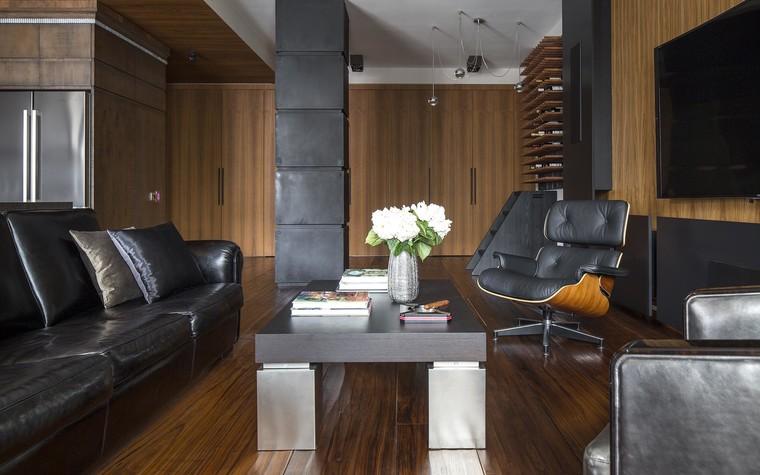 Квартира. гостиная из проекта Квартира на Садовом, фото №80586