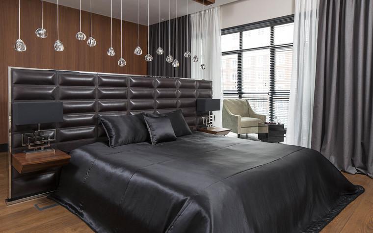 Квартира. спальня из проекта Квартира на Садовом, фото №80593