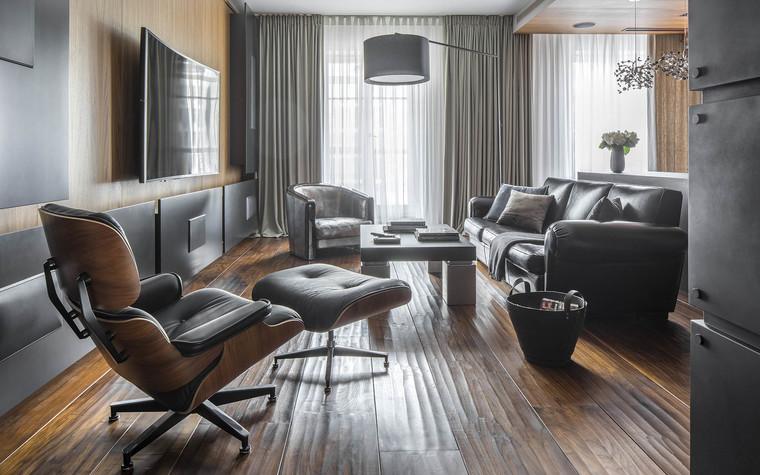 Квартира. гостиная из проекта Квартира на Садовом, фото №80583
