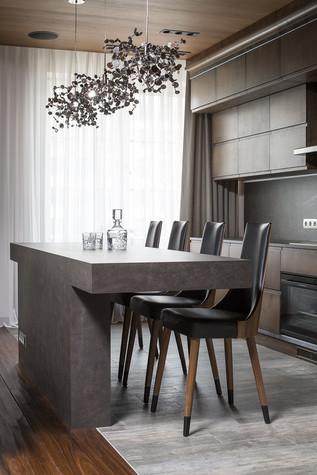 Квартира. кухня из проекта Квартира на Садовом, фото №80588