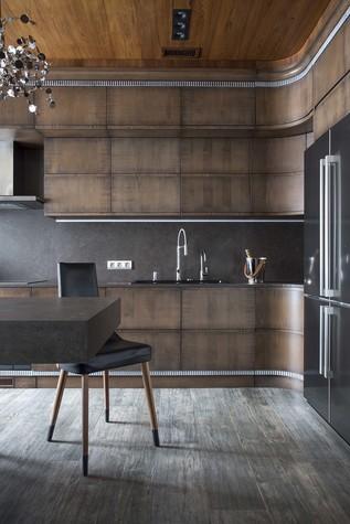 Квартира. кухня из проекта Квартира на Садовом, фото №80590
