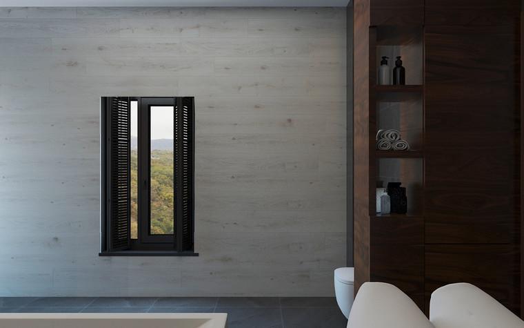 Квартира. ванная из проекта Дом в стиле лофт, фото №80626