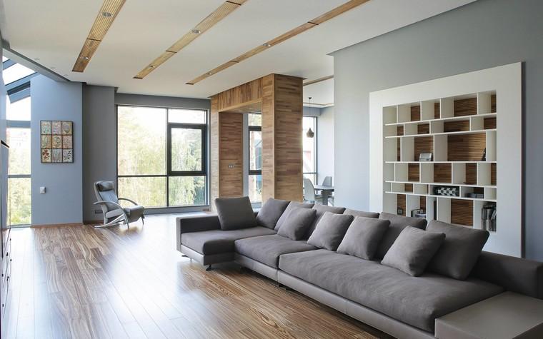 Квартира. гостиная из проекта Квартира в стиле минимализм, фото №80813