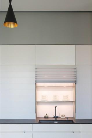 Квартира. кухня из проекта Квартира в стиле минимализм, фото №80824