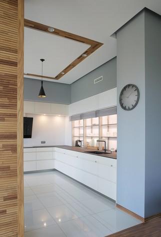 Квартира. кухня из проекта Квартира в стиле минимализм, фото №80825