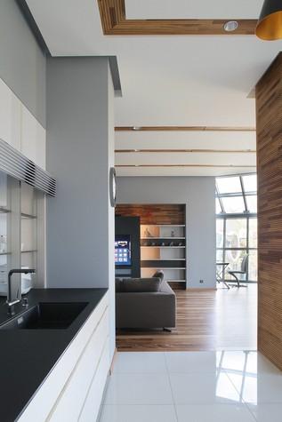 Квартира. кухня из проекта Квартира в стиле минимализм, фото №80826