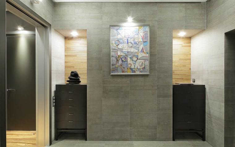 Квартира. прихожая из проекта Квартира в стиле минимализм, фото №80841