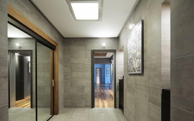 Квартира. прихожая из проекта Квартира в стиле минимализм, фото №80842
