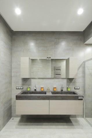 Квартира. ванная из проекта Квартира в стиле минимализм, фото №80837