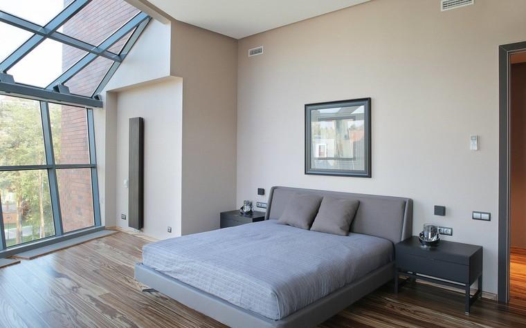 Квартира. спальня из проекта Квартира в стиле минимализм, фото №80835