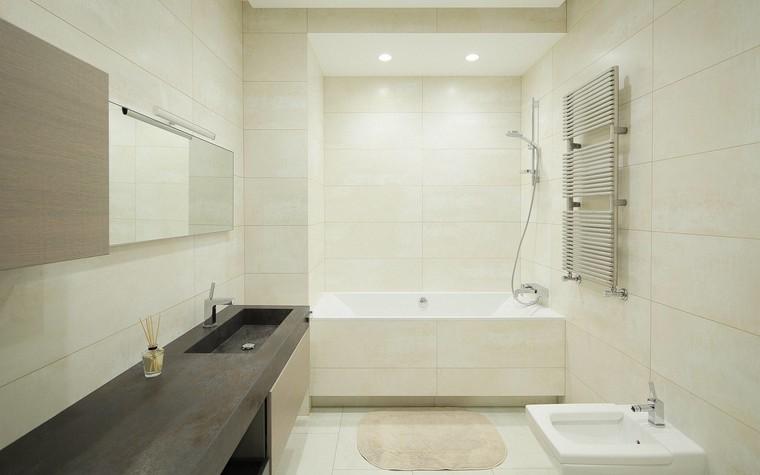 Квартира. ванная из проекта Квартира в стиле минимализм, фото №80839