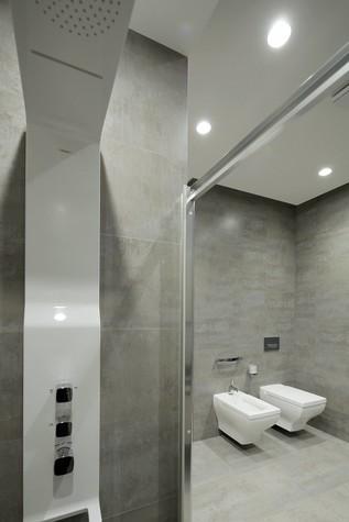 Квартира. ванная из проекта Квартира в стиле минимализм, фото №80840