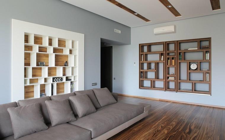 Квартира. гостиная из проекта Квартира в стиле минимализм, фото №80817