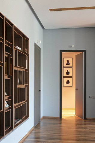 Квартира. гостиная из проекта Квартира в стиле минимализм, фото №80818