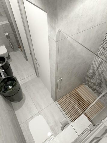 Квартира. санузел из проекта ЖК Олимпийская Ривьера Новогорск, фото №80923