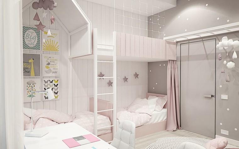 Квартира. детская из проекта ЖК Олимпийская Ривьера Новогорск, фото №80924