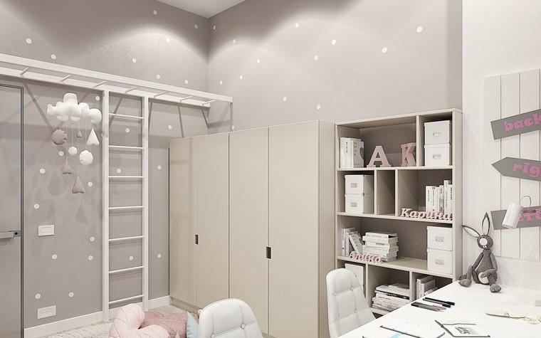 Квартира. детская из проекта ЖК Олимпийская Ривьера Новогорск, фото №80925