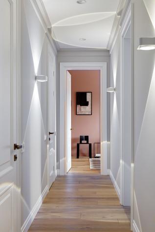 Квартира. коридор из проекта Бирюзовый и терракота, фото №80954