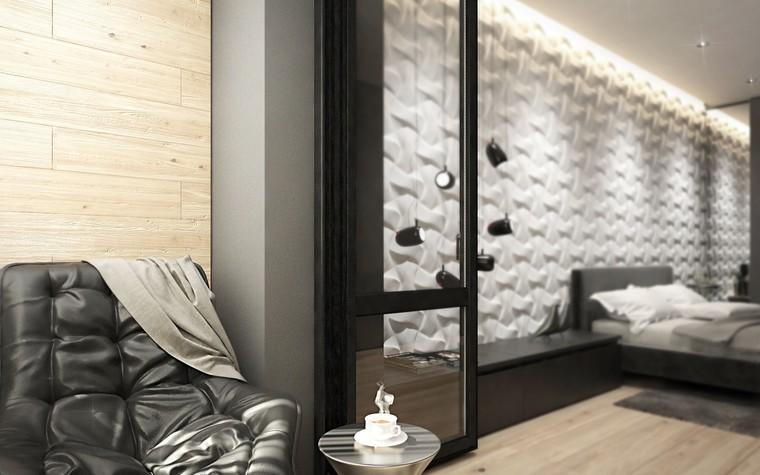 Квартира. спальня из проекта ЖК Обыкновенное Чудо, фото №81028