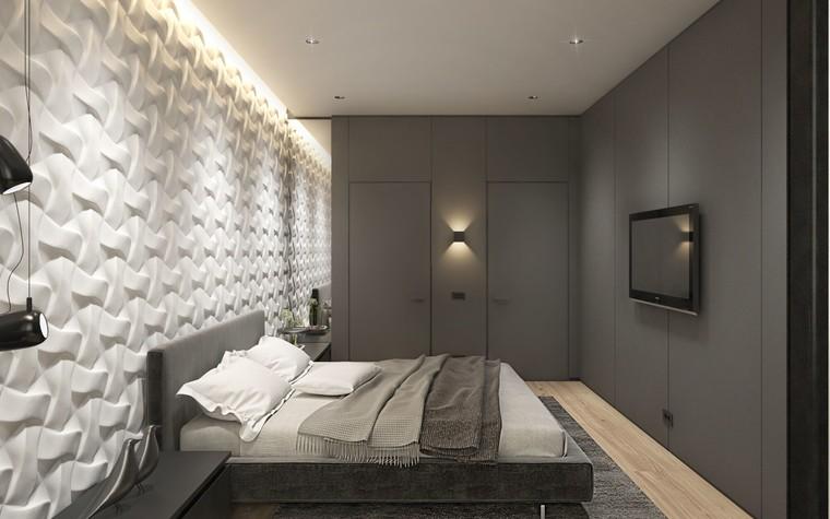 Квартира. спальня из проекта ЖК Обыкновенное Чудо, фото №81029