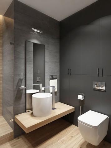 Квартира. ванная из проекта ЖК Обыкновенное Чудо, фото №81031