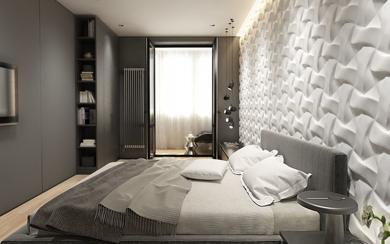 Квартира. спальня из проекта ЖК Обыкновенное Чудо, фото №81030