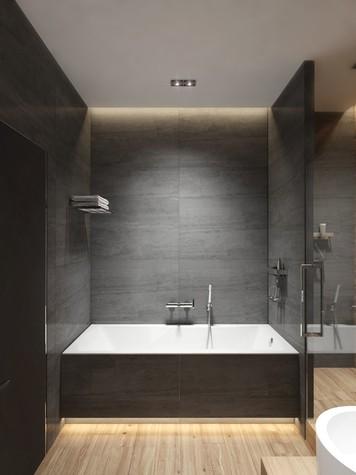Квартира. ванная из проекта ЖК Обыкновенное Чудо, фото №81033