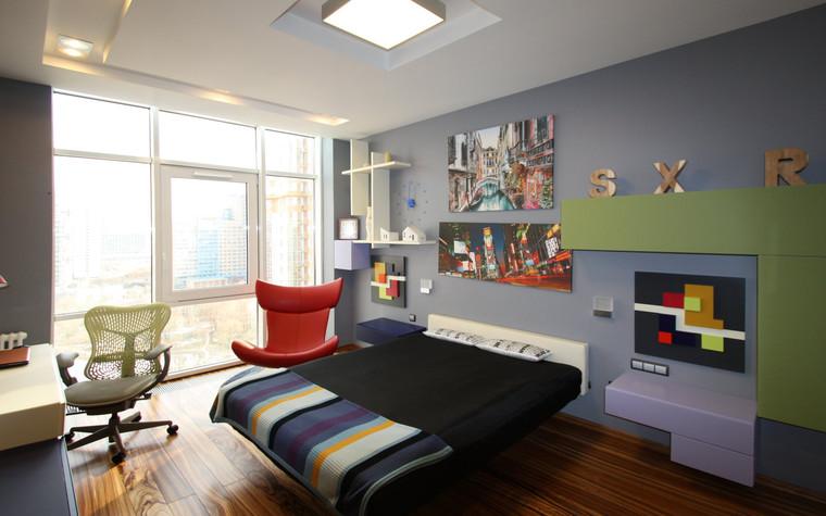 Квартира. детская из проекта Квартира в современном стиле, фото №81038