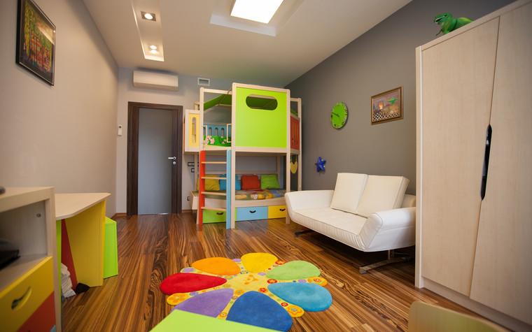 Квартира. детская из проекта Квартира в современном стиле, фото №81044