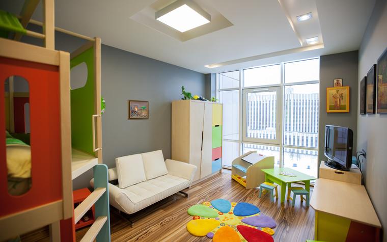 Квартира. детская из проекта Квартира в современном стиле, фото №81045