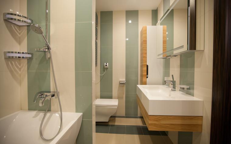 Квартира. ванная из проекта Квартира в современном стиле, фото №81051