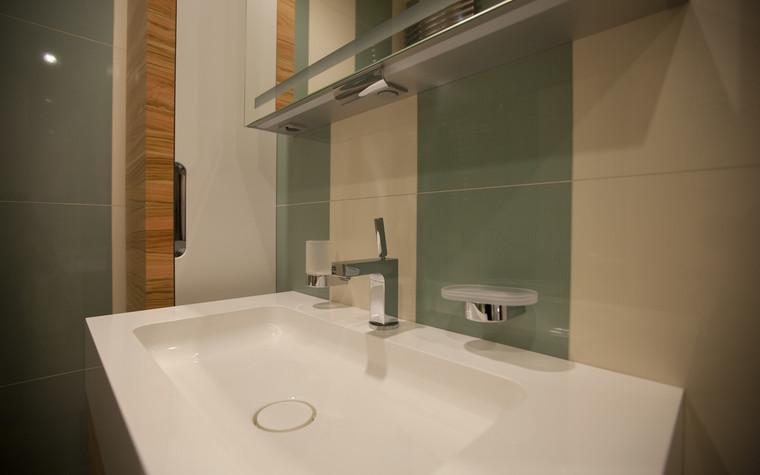 Квартира. ванная из проекта Квартира в современном стиле, фото №81052