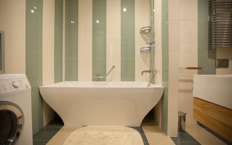 Квартира. ванная из проекта Квартира в современном стиле, фото №81053
