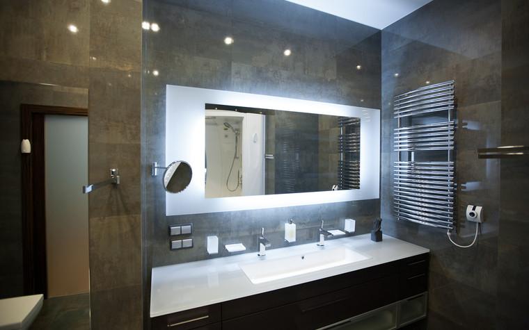 Квартира. ванная из проекта Квартира в современном стиле, фото №81056