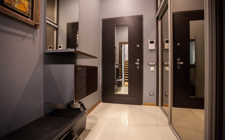 Квартира. прихожая из проекта Квартира в современном стиле, фото №81047