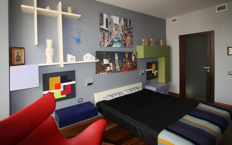 Квартира. детская из проекта Квартира в современном стиле, фото №81040
